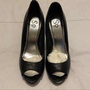 Peek Toe Heels